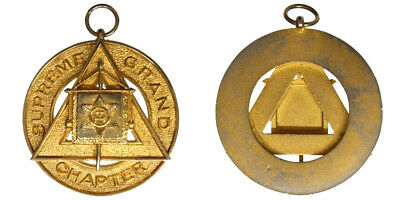 Medagli Medal Massoneria Supreme Grand Chapter Of Royal Arch Masons #md584