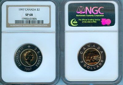 1997 Canada $2   Ngc Sp-68   Second Finest Graded