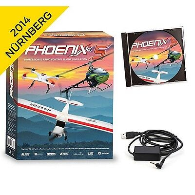 Runtime Games Phoenix R/C Pro Flight Simulator V4.0 w/ Adapter : Spektrum DX7S