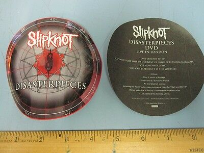 SLIPKNOT 2002 DISASTERPIECES promotional sticker!~MINT condition~!