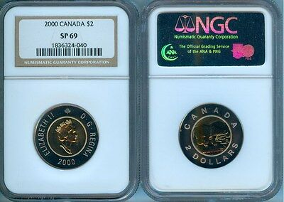 2000 Canada $2  Ngc Sp-69   Finest Graded