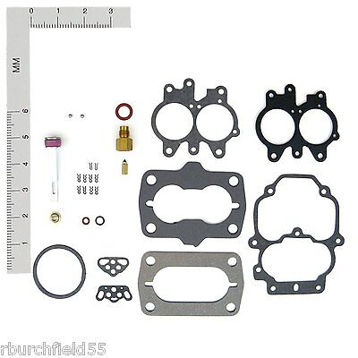 Chrysler 8 Cyl Marine Carburetor Kit Carter 4 BBL Carter # 3213 3214 4476 3392