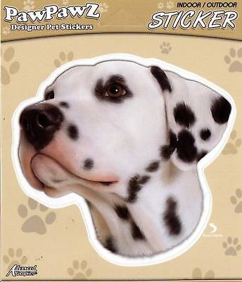 """Dalmatian Decal Bumper Sticker Gifts Pets Dogs Spots 5"""" x 4.5"""" Outdoor Indoor"""
