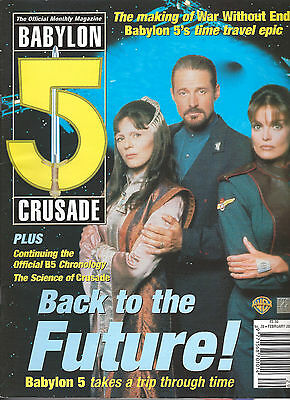 Babylon 5 Crusade Official Monthly Magazine Vol 2 #20- British-Back to Future