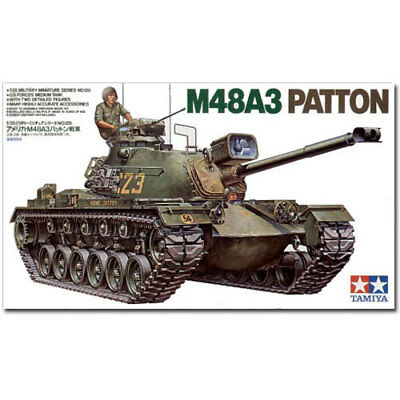 TAMIYA 35120 U.S. M48A3 Patton 1:35 Military Model Kit