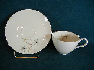 Castleton China Constellation Cup and Saucer Set(s)