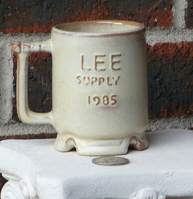 Frankoma C1 Coffee Cup Lee Supply 1985 Westwind Desert Lee Supply Oklahoma City