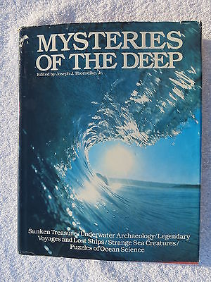 Mysteries Of The Deep Book Maritime Nautical Marine (#005)