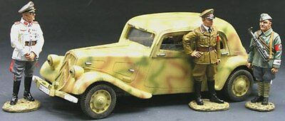 King & Country Ww2 German Army Ws092 Tour Of Inspection Mib