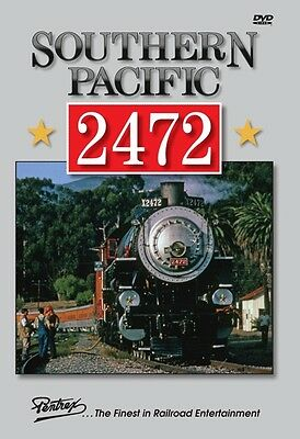 Southern Pacific 2472 Steam Pentrex Dvd New