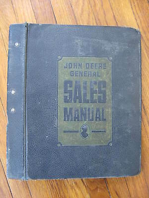 John Deere General Sales Manual 4-Post Binder