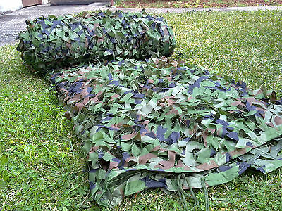 Hunting Camping Camo Military Camouflage Army Woodland Jungle Leaves Net 8X8M
