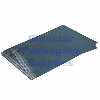 Mixed Pack of Grey Strong Plastic Postage / Mailing Bags - Various Sizes