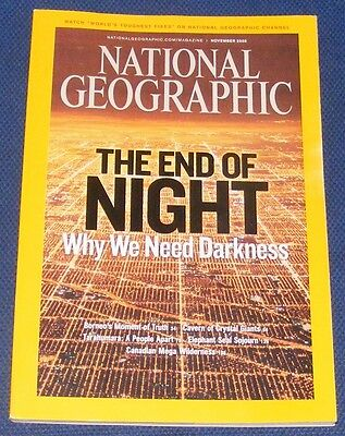 National Geographic Magazine November 2008 - Borneo/crystal Giants/seals