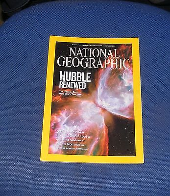National Geographic Magazine February 2010 - Polygamists/patagonia/hubble