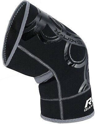Authentic RDX Neoprene Knee Brace Cap Support MMA Pad Guard Sports Wrestling AU