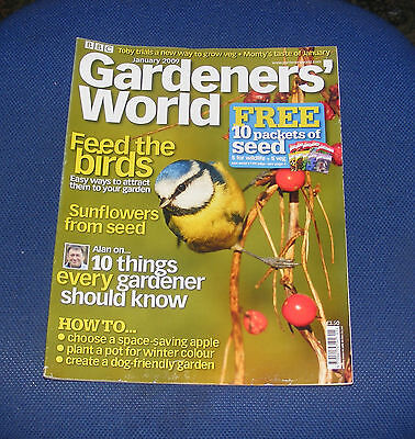 Gardeners' World January 2009 - Feed The Birds/sunflowers From Seed