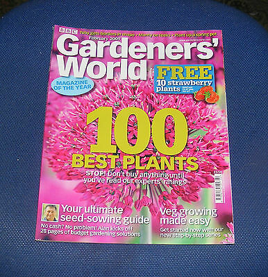 Gardeners' World February 2009 - 100 Best Plants/your Ultimate Seed Sowing Guide