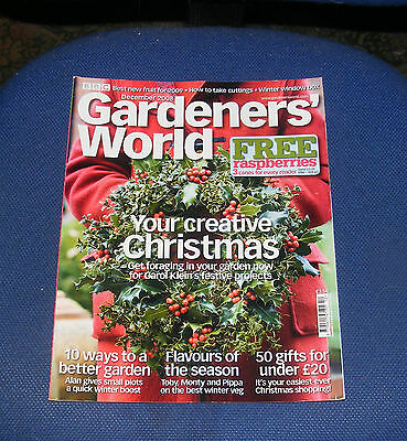 Gardeners' World December 2008 - Your Creative Christmas/flavours Of The Season