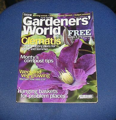 Gardeners' World April 2008 - Clematis/hanging Baskets For Problem Places