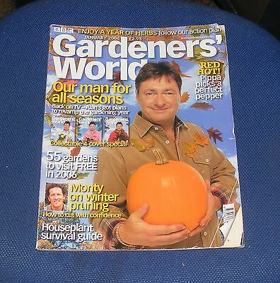 Gardeners' World January 2006 - Our Man For All Seasons/red Hot!