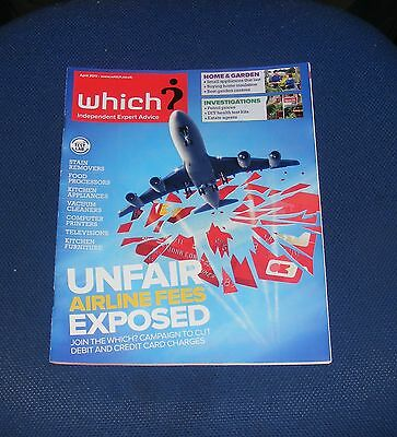Which? April 2011 - Unfair Airline Fees Exposed