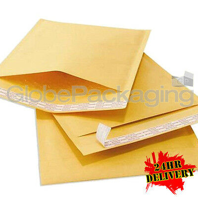 2000 SIZE C/0 PADDED BUBBLE ENVELOPES BAGS 140x195mm