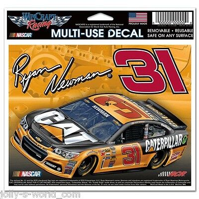 2014 NASCAR Ultra Sticker #31 *CATERPILLAR* Ryan Newman - RCR