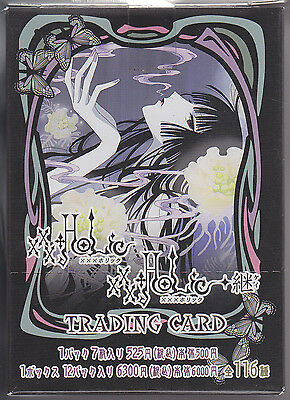 xxxHolic TV Animation Trading Card Sealed Box Clamp Japanese