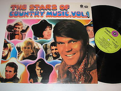 LP/THE STARS OF COUNTRY MUSIC VOL 1/Capitol 048-80259 NEAR MINT
