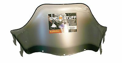 "Polaris Indy XLT 600 SP, 1998-1999, 15"" Black on Clear Windshield"