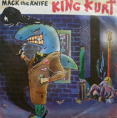 "7"" 1984 RARE SKA ! KING KURT : Mack The Knife / VG++"