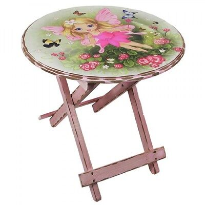 Gorgeous Girls Childs Fairy Angel Table ~ Folds For Storage Very Pretty ~ 46cm