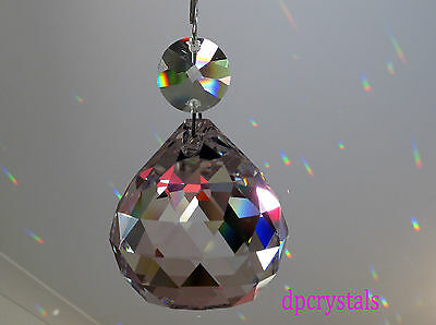 Sun catcher Hanging Crystal Ball Feng Shui Rainbow Prism Mobile Wind Chime