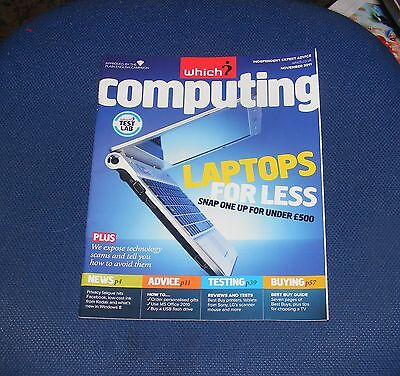 Which? Computing November 2011 - Laptops For Less