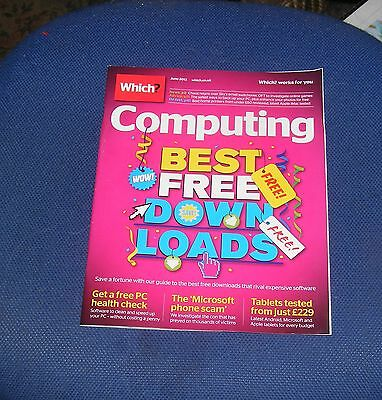 Which? Computing June 2013 - Best Free Downloads/Microsoft Phone Scam