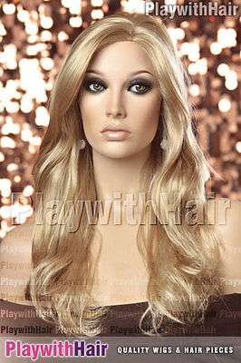 Sweeping Soft Layered Wig Honey Blonde