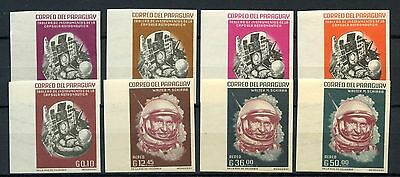 Paraguay 1963 Space MNH Imperf Set #A60860