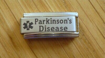 Italian Charms S8  Medical Alert Parkinsons  Parkinson's Disease