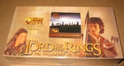 Lord of the Rings Fellowship Action Flipz Box