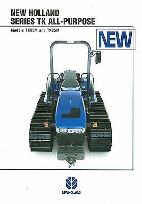 New Holland Tk-Series All-Purpose Tractors Brochure