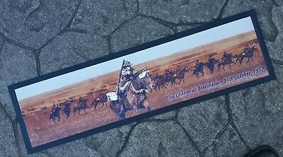 Australia In The Great War Bar Runner - Rubber Backed Mat New Anzac History