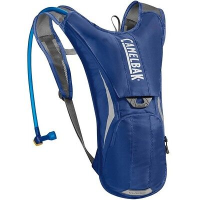 CamelBak Classic 2.0L Water Hydration Backpack  - Hiking Cycling - Pure Blue