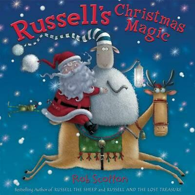 Russell's Christmas Magic by Rob Scotton (English) Hardcover Book Free Shipping!