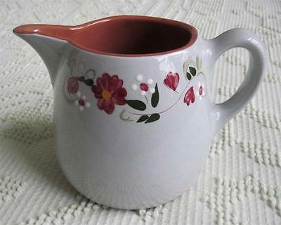 1959 Stangl Pottery Garland Hand Painted One Quart Pitcher #4067