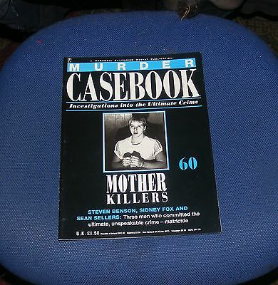 Murder Casebook Number 60 - Mother Killers - Benson, Fox And Sellers