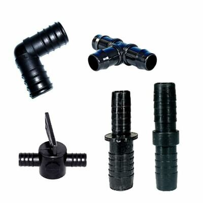 Fittings For Flexible Pond Hose Pipe Joiner/jointer/splitter/valve Control Push