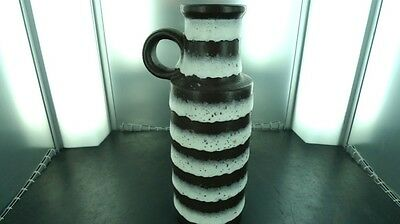 TALL / RETRO WEST GERMAN 401-28 VASE. 28.5CMS HIGH. VERY NICE CONDITION !!!