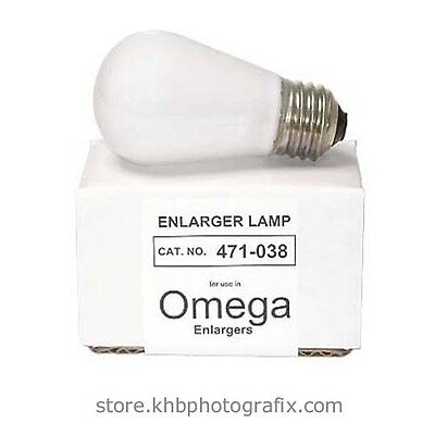 Omega 471-038  PH140  PH/140 75W 120V Condenser Enlarger Lamp