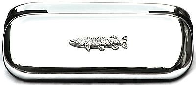 Pike Fishing Glasses Spectacle Case  Gift FREE ENGRAVING POSTAGE